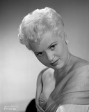 Judy Holliday on a V-Neck Top With Head Down Portrait