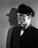 James Cagney in Formal Suit with Cap Classic Portrait