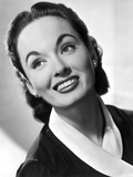 Ann Blyth Looking Up wearing an Earrings in a Portrait
