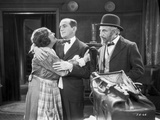 Al Jolson hugging the Maid in a Classic Movie Scene
