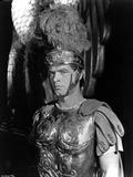 Stephen Boyd in Spartan Attire With Black Background