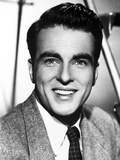 Montgomery Clift Portrait smiling in Black and White