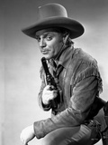 James Cagney in Cowboy Outfit with Pistol Classic Portrait
