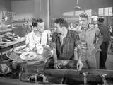 From Here To Eternity Three men talking in Kitchen