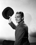 James Cagney in Formal Suit with Hat Classic Portrait