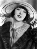 Colleen Moore on a Coat and a Hat and smiling Portrait
