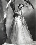 Loretta Young Coconut Tree and a Lady in a Wedding Dress