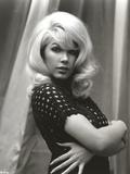 Stella Stevens Posed in Polka Dot Dress Classic Portrait