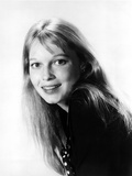 Mia Farrow Portrait in Classic wearing Black Blouse