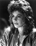 Linda Hamilton Portrait in Classic wearing Leather Jacket