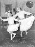 Whatever Happened To Baby Jane Girl and Old Woman Bowing