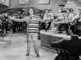 Al Jolson singing with a Band wearing a Mexican Hat