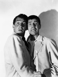 Dean Martin and Jerry Lewis Scene with Two Men in Shock