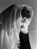 Gloria Swanson Side View Posed in Classic Portrait