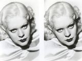 Alice Faye Looking at the Camera  Head Leaning on Right