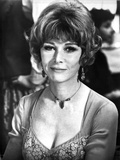 Lee Grant Portrait in Classic with Necklace and Earrings