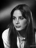 Deborah Raffin Classic Portrait in White Sleeves