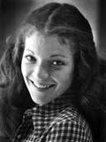 Amy Irving smiling and Facing Right in Classic Portrait