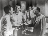 Twelve Angry Men Movie Scene with Five Men Talking