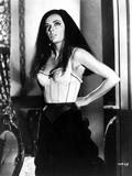 Classic Portrait of Barbara Steele posed in Lingerie
