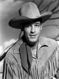 Guy Madison in Cowboy Outfit Classic Portrait