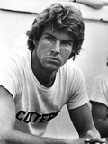 Dennis Quaid in White Shirt Close Up Portrait
