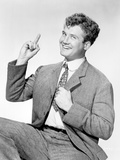 George Reeves posed in Black and White Portrait