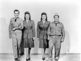 Abbott & Costello Posed and Partnered with Women