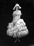 Colleen Moore on a Thick Furry Skirt Portrait