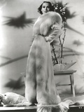 Dolores Del Rio Posed in Classic with Shadows