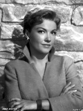 Anne Baxter Leaning and Hands Crossed on Chest