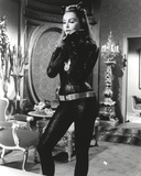 Julie Newmar in Cat Woman Costume Black and White