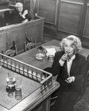 Witness For The Prosecution Woman Putting lipstick
