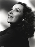 Dolores Del Rio Portrait wearing Black Sweater