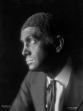 Al Jolson Facing Right in a Close Up Portrait