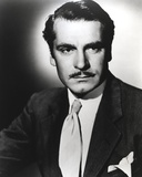 Laurence Olivier Portrait wearing a Suit with Tie