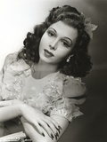 Ann Miller wearing a Blouse in a Classic Portrait