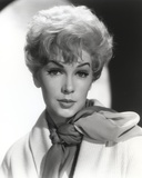 Stella Stevens posed with Scarf Classic Portrait
