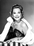 Sonja Henie on a Soft Cloth Coat smiling Portrait
