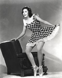 Ann Miller standing in Skirt Classic Portrait