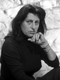 Anna Magnani wearing a Black Tunic with Bracelets