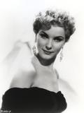 Debra Paget Portrait wearing Dangling Earrings