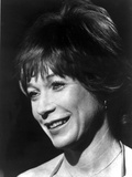 Shirley MacLaine smiling in Headshot Portrait