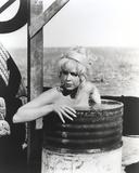 Stella Stevens Bathing in Drum Classic Portrait