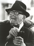 George Burns in Tuxedo with Hat Classic Portrait