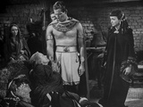 Ten Commandments Discussing Scene Black and White