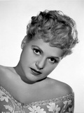 Judy Holliday on V-neck Printed Leaning Portrait