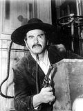Eli Wallach Hiding in Cowboy Outfit With Pistol