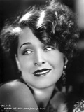Norma Shearer Portrait in Classic with Earrings