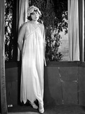 Dorothy Dalton Posed in Classic with Sleeping Attire